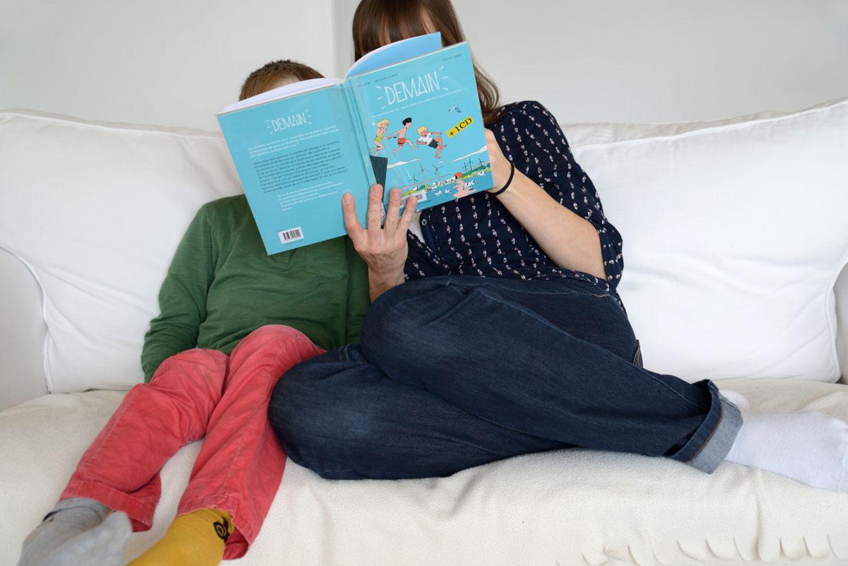 Demain, le livre pour enfants