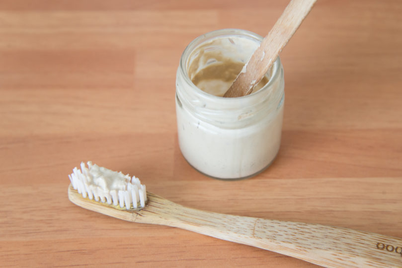 Recette de dentifrice