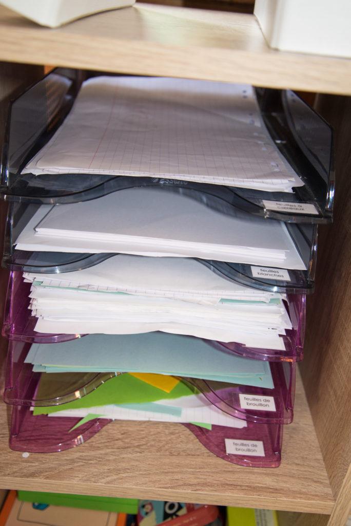 Papiers de brouillon en libre service