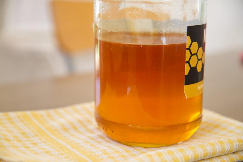 Du miel pour faire un masque visage nourrissant