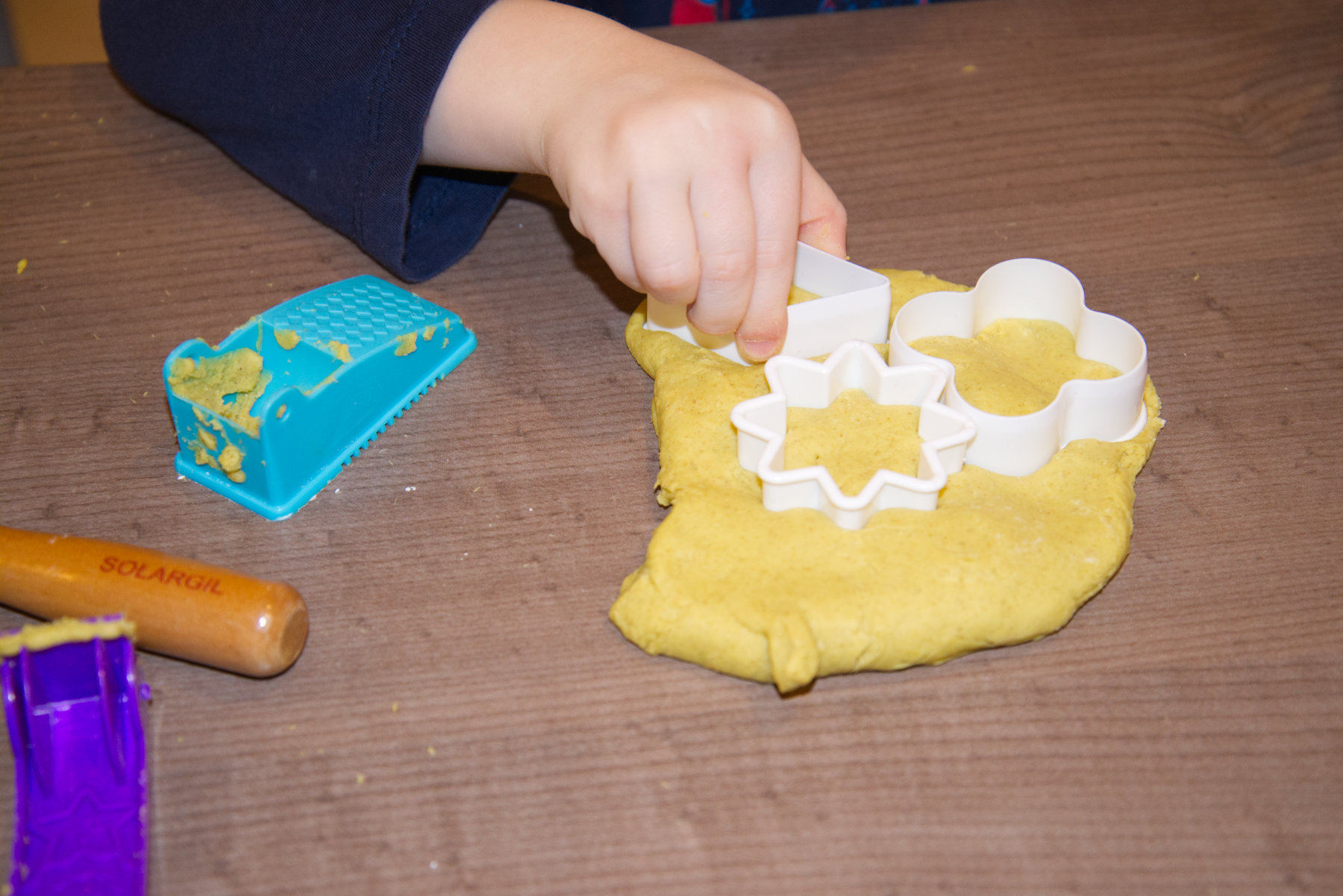 Pâte à modeler et pâte à sel