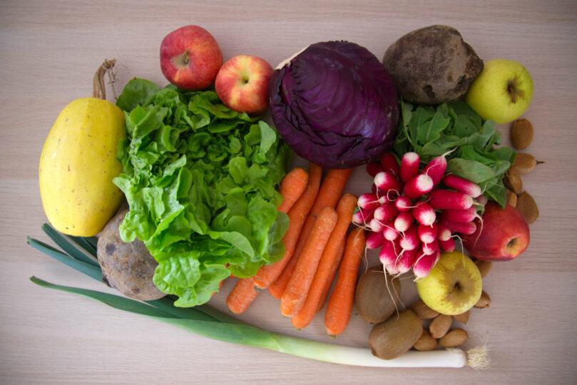 Manger des fruits et légumes  de saison: petit guide pratique